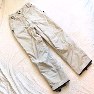 TwistGirls Pants - Twist Girls Gentech tan snowboard pants/ M